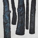Five Blue Trees 2001